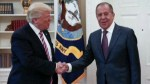 Donald Trump meets Russia's Sergei Lavrov in Oval Office